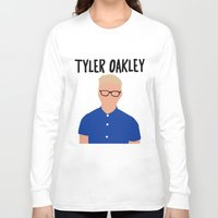 tyler spangler Long Sleeve T-shirts featuring Tyler Oakley by BethTheKilljoy