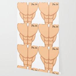 Six Pack I'm 34th Birthday Funny Men Wallpaper