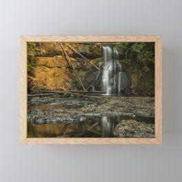 Upper North Falls, Late Summer Framed Mini Art Print