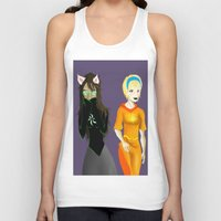 homestuck Tank Tops featuring Beta Babes by Paula Urruti