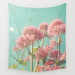 Pink Milkweed Wall Tapestry