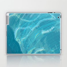 Water Words Laptop & iPad Skin
