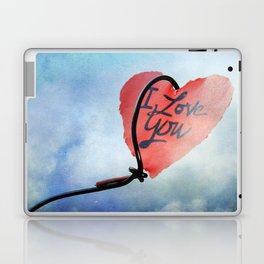 Heart in sky Laptop & iPad Skin