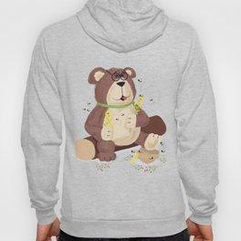 Greedy bear Hoody