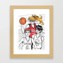 Inktober 2016 - KNB Framed Art Print