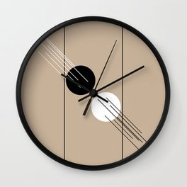 Collision Course - Lines and Curves - Set 2 Wall Clock