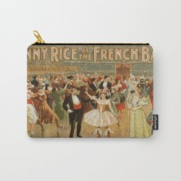 Vintage poster - Fanny Rice at the French Carry-All Pouch
