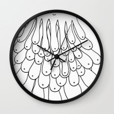 Booba the Hutt Wall Clock