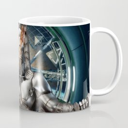 Robot Space Cat Coffee Mug