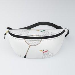 Badminton Cock Shuttles Fanny Pack