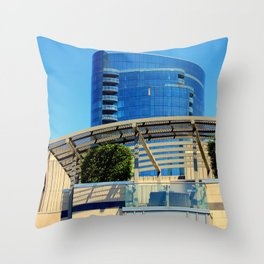 Arc-itecture Repeats Throw Pillow