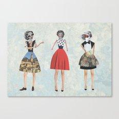 Dress envy Canvas Print