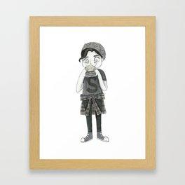 Jughead Jones - Riverdale Framed Art Print