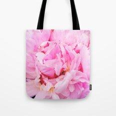 Pretty Pink Peony Tote Bag