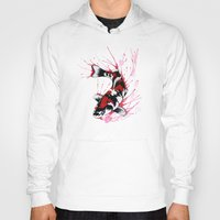 koi fish Hoodies featuring Koi by Puddingshades