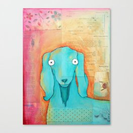 Quartet Goat Canvas Print