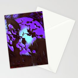 Spooktober Night Stationery Cards