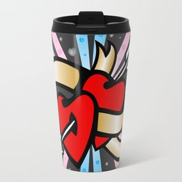 Two lovely hearts Travel Mug