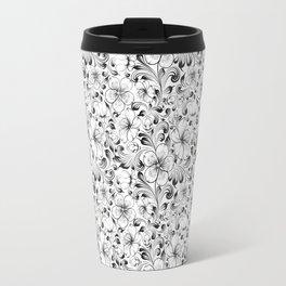 Sakura seamless pattern. Travel Mug