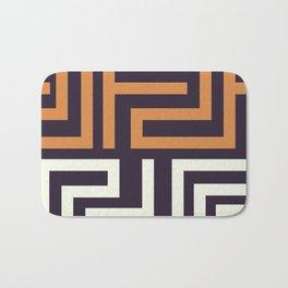 African Tribal Pattern No. 51 Bath Mat