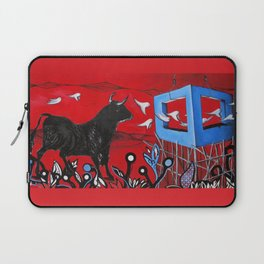 Trapped Bull Laptop Sleeve