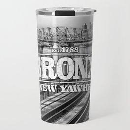 Bronx New York 'New Yawhk' Est. 1788 Travel Mug