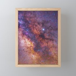 Milky Way Galaxy Framed Mini Art Print