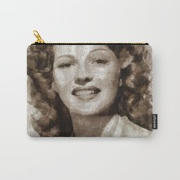Rita Hayworth by MB Carry-All Pouch