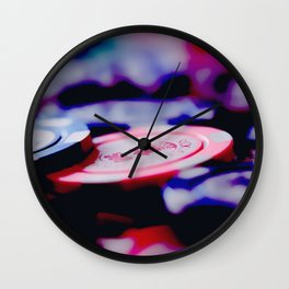 Casino Chips Wall Clock
