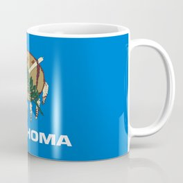 flag of oklahoma-Oklahoma,south,Oklahoman,Okie, usa,america,Tulsa,Norman,Broken Arrow Coffee Mug