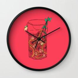 SunTea Wall Clock
