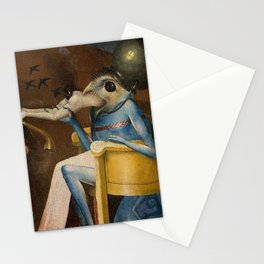 THE GARDEN OF EARTHLY DELIGHTS (detail) - HIERONYMUS BOSCH  Stationery Cards