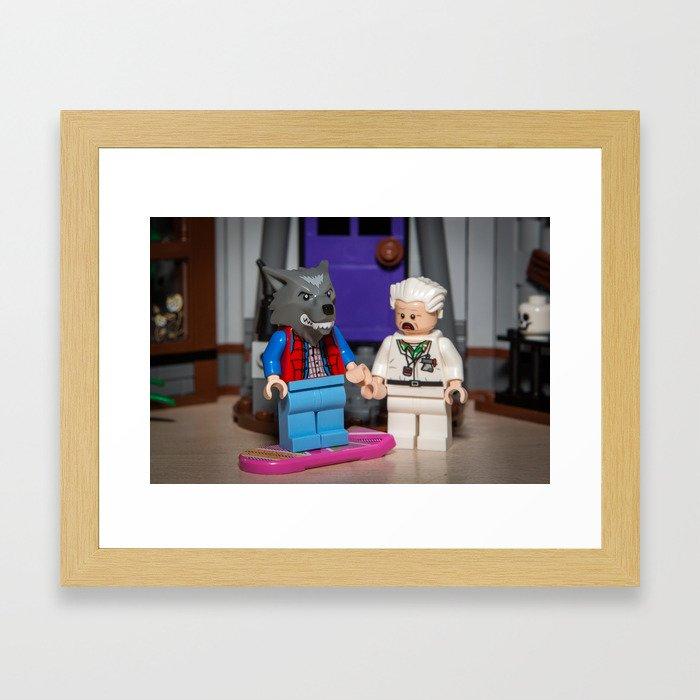 Marty Teen Wolf Framed Art Print