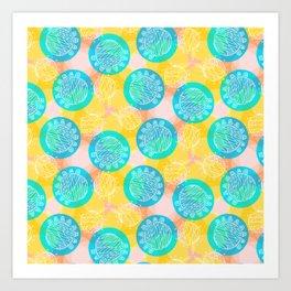 Awesome Balls Art Print