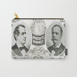 Vintage poster - 1896 Democratic Presidential ticket Carry-All Pouch