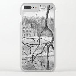Chateau Orquevaux Clear iPhone Case