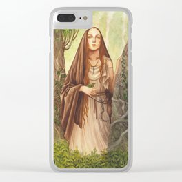 Viduca ~ A Compendium Of Witches Clear iPhone Case