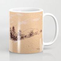 switzerland Mugs featuring Switzerland by Heather Hartley