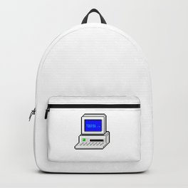 Hello World in Pixel Style Backpack
