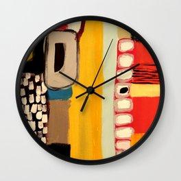chemins Wall Clock