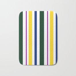 Stripes in colour 1 Bath Mat