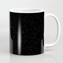 Dark Starry Abyss // Long Exposure Photograph of the Night Sky Coffee Mug