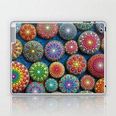 Mandala Stone Love Heart Laptop & iPad Skin
