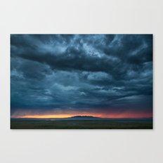 Salt Lake Sky Canvas Print