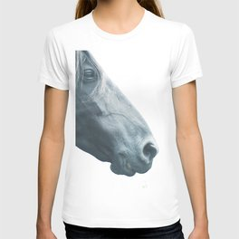 Horse head - fine art print n° 2, nature love, animal lovers, wall decoration, interior design, home T-shirt