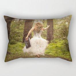 Book of Magic Rectangular Pillow