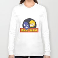 pac man Long Sleeve T-shirts featuring pac-man by Jung Imjen