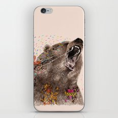 Angry Bear II iPhone & iPod Skin
