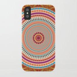 Friendship Mandala - מנדלה רעות iPhone Case