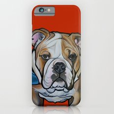 Johnny the English Bulldog iPhone 6s Slim Case